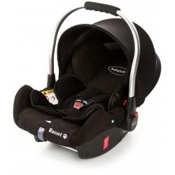 Fotelik Baby-Safe Basset Fix 0-13 kg z bazą Isofix - Black