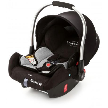 Fotelik Baby-Safe Basset Isofix 0-13 kg - Grey