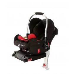 Fotelik Baby-Safe Basset Fix 0-13 kg z bazą Isofix - Red