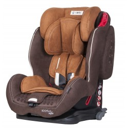 Fotelik Coletto Sportivo Isofix 9-36 kg - Brown