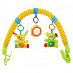 Pałąk do wózka Baby Mix TE-8451-94A Zwierzątka