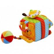 Kostka edukacyjna Baby Mix TE-8561-10C - Kotek