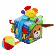 Kostka edukacyjna Baby Mix TE-8561-10D - Piesek