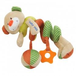 Pluszowa spiralka edukacyjna Baby Mix STK-13191B - Miś