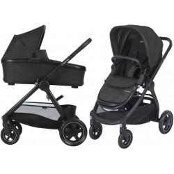 Wózek dziecięcy Maxi-Cosi Adorra z gondolą Oria - Nomad Black