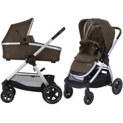 Wózek dziecięcy Maxi-Cosi Adorra z gondolą Oria - Nomad Brown