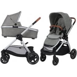 Wózek dziecięcy Maxi-Cosi Adorra z gondolą Oria - Nomad Grey