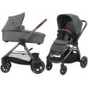 Wózek dziecięcy Maxi-Cosi Adorra z gondolą Oria - Sparkling Grey
