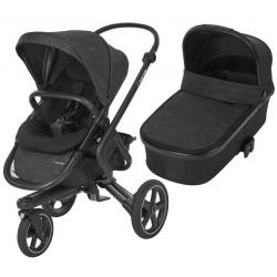 Wózek dziecięcy Maxi-Cosi Nova 3 z gondolą Oria - Nomad Black