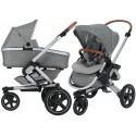 Wózek dziecięcy Maxi-Cosi Nova 3 z gondolą Oria - Nomad Grey