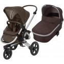 Wózek dziecięcy Maxi-Cosi Nova 3 z gondolą Oria - Nomad Brown