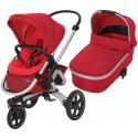 Wózek dziecięcy Maxi-Cosi Nova 3 z gondolą Oria - Vivid Red