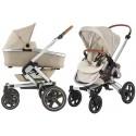 Wózek dziecięcy Maxi-Cosi Nova 4 z gondolą Oria - Nomad Sand