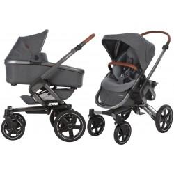 Wózek dziecięcy Maxi-Cosi Nova 4 z gondolą Oria - Sparkling Grey