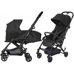 Wózek dziecięcy Maxi-Cosi Laika + gondola miękka - Nomad Black