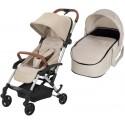 Wózek dziecięcy Maxi-Cosi Laika + gondola miękka - Nomad Sand