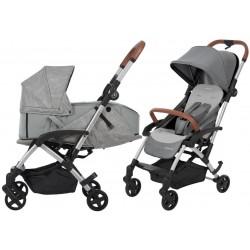 Wózek dziecięcy Maxi-Cosi Laika + gondola miękka - Nomad Grey