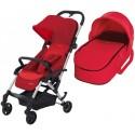 Wózek dziecięcy Maxi-Cosi Laika + gondola miękka - Vivid Red