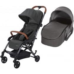 Wózek dziecięcy Maxi-Cosi Laika + gondola miękka - Sparkling Grey