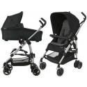 Wózek dziecięcy Maxi-Cosi Dana + gondola Oria - Nomad Black