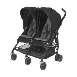 Wózek dziecięcy bliźniaczy Maxi-Cosi Dana For2 - Nomad Black