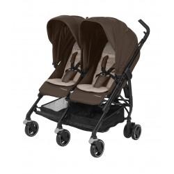 Wózek dziecięcy bliźniaczy Maxi-Cosi Dana For2 - Nomad Brown