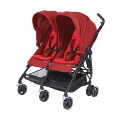 Wózek dziecięcy bliźniaczy Maxi-Cosi Dana For2 - Vivid Red