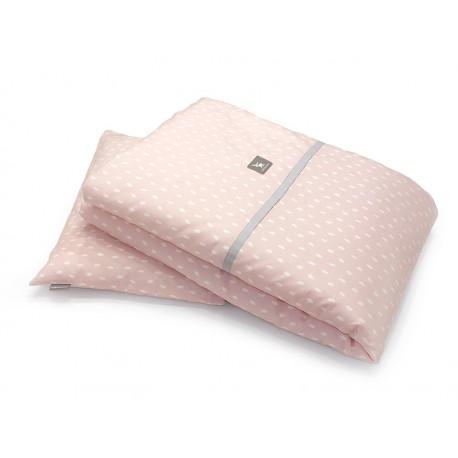Pościel 2-el Cottonmoose drukowana Rain Pink