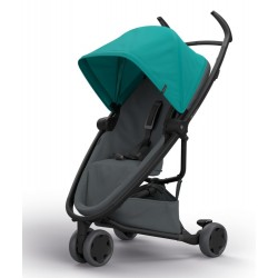 Wózek dziecięcy spacerowy Quinny Zapp Flex - Green on Graphite