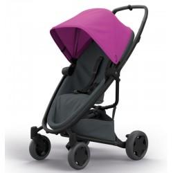 Wózek dziecięcy spacerowy Quinny Zapp Flex Plus - Pink on Graphite