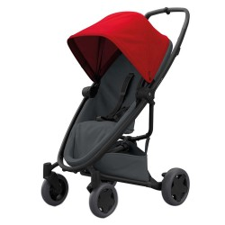 Wózek dziecięcy spacerowy Quinny Zapp Flex Plus - Red on Graphite