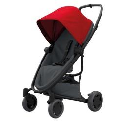 Wózek dziecięcy spacerowy Quinny Zapp Flex Plus - Red on Graphite