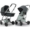 Wózek dziecięcy Quinny Zapp Flex Plus z gondolą LUX - Graphite on Grey
