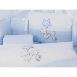 Pościel 3-el Tuttolina Baloons niebieska