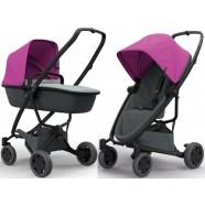 Wózek dziecięcy Quinny Zapp Flex Plus z gondolą - Pink on Graphite