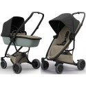 Wózek dziecięcy Quinny Zapp Flex Plus z gondolą LUX - Black on Sand