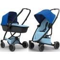 Wózek dziecięcy Quinny Zapp Flex Plus z gondolą LUX - Blue on Sky