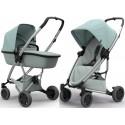 Wózek dziecięcy Quinny Zapp Flex Plus z gondolą LUX - Frost on Grey