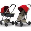 Wózek dziecięcy Quinny Zapp Flex Plus z gondolą LUX - Red on Sand