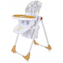 Krzesełko Comfort Lux Sun Baby - pomarańczowe