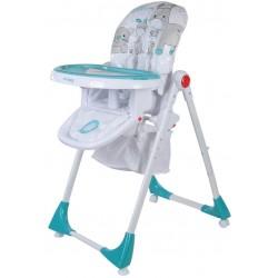 Krzesełko Comfort Lux Sun Baby - turkusowe
