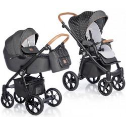 Wózek dziecięcy Roan Esso - Black Star