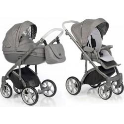 Wózek dziecięcy Roan Bass Soft Basic - Anthracite Grey