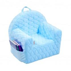 Fotelik Velvet Kids Albero Mio by Klupś - V104 niebieski