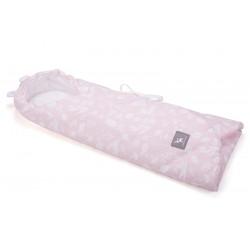 Otulaczek, becik-rożek, śpiworek Cottonmoose 439 - Forest Pink