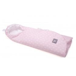 Otulaczek, becik-rożek, śpiworek Cottonmoose 439 - Rain Pink