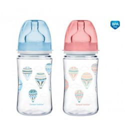 Butelka szerokootworowa antykolkowa 240ml EasyStart Newborn Baby Canpol 35/225 In The Clouds