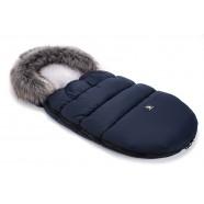 Śpiwór zimowy Cottonmoose Moose 422 - granatowy+szary
