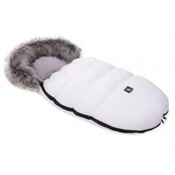 Śpiwór zimowy Cottonmoose Moose 422 - biały+szary