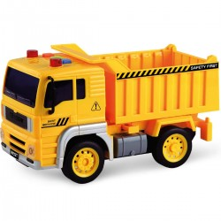 Pojazd z napędem, światłem i dźwiękiem od 36m+ Anek WY510A wywrotka - żółty